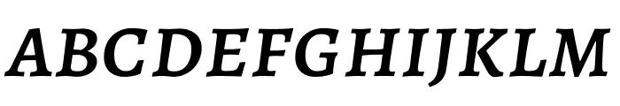 Alegreya SC Medium Italic Font LOWERCASE