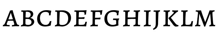 Alegreya SC Regular Font LOWERCASE