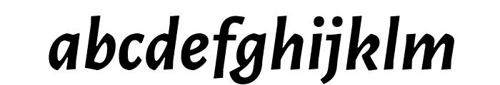 Alegreya Sans Bold Italic Font LOWERCASE