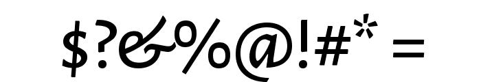 Alegreya Sans SC Medium Font OTHER CHARS