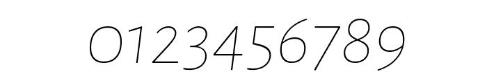 Alegreya Sans SC Thin Italic Font OTHER CHARS
