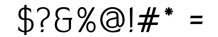 AleksandraC Font OTHER CHARS