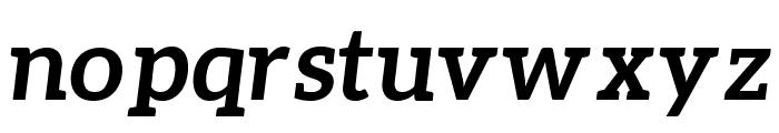 Aleo Bold Italic Font LOWERCASE