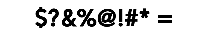 Alesand-ExtraBold Font OTHER CHARS