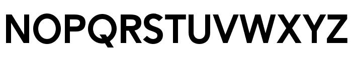 Alesand-ExtraBold Font LOWERCASE