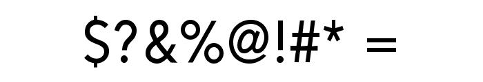 Alesand Regular Font OTHER CHARS