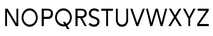 Alesand Regular Font UPPERCASE