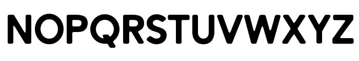 AlesandRound-ExtraBold Font UPPERCASE
