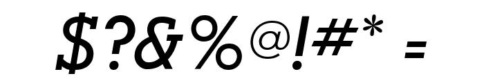 AlexandriaFLF-BoldItalic Font OTHER CHARS