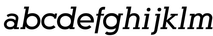 AlexandriaFLF-BoldItalic Font LOWERCASE