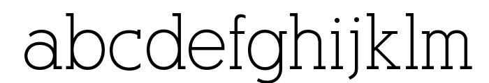 AlexandriaFLF Font LOWERCASE