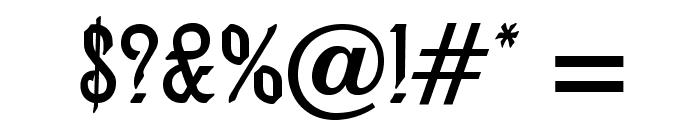 AlexisScriptOpti Font OTHER CHARS