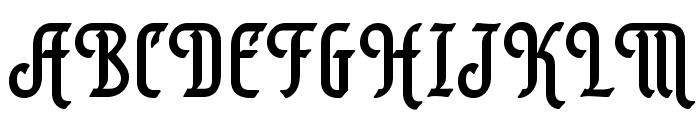 AlexisScriptOpti Font UPPERCASE