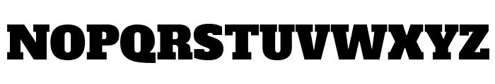 AlfaSlabOne-Regular Font UPPERCASE