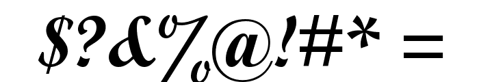 Alfaowner Script Bold Italic Font OTHER CHARS