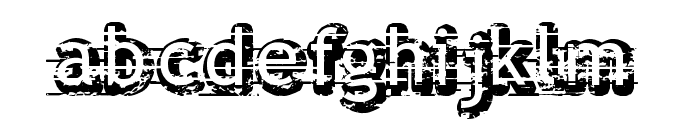 Alfred 24 Font LOWERCASE