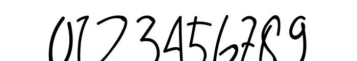 Alfrida Signature Font OTHER CHARS
