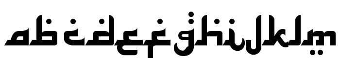 Alhambra Font UPPERCASE
