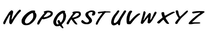 Ali_Air Font UPPERCASE