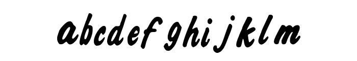 Ali_Air Font LOWERCASE
