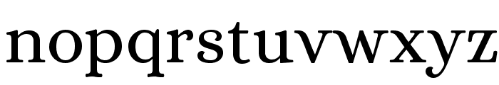 Alice-Regular Font LOWERCASE