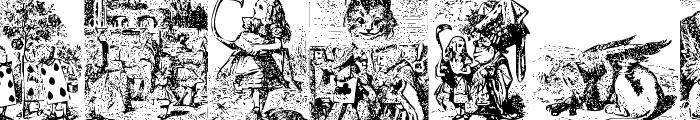 Alice in Wonderland Font OTHER CHARS