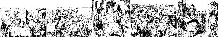 Alice in Wonderland Font LOWERCASE