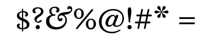 Alice Font OTHER CHARS