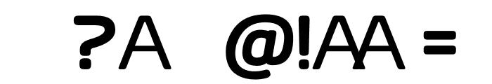 AliciOne Demo Font OTHER CHARS