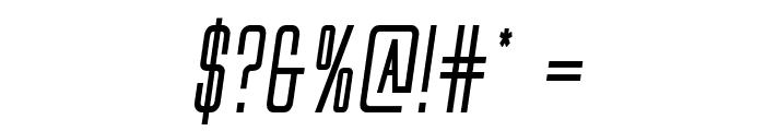 Alien League II Bold Italic Font OTHER CHARS