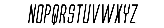 Alien League II Bold Italic Font UPPERCASE