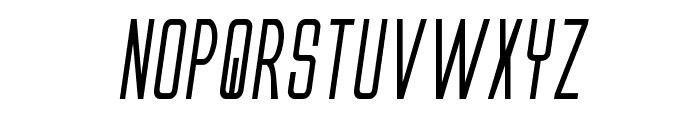 Alien League II Bold Italic Font LOWERCASE