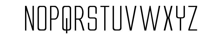 Alien League II Expanded Font UPPERCASE