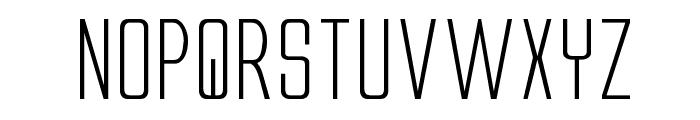 Alien League II Expanded Font LOWERCASE