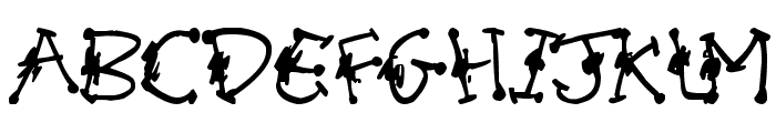 Alien Mutations Begin Font UPPERCASE