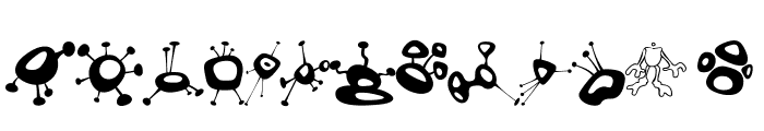 AlienMushrooms Font LOWERCASE