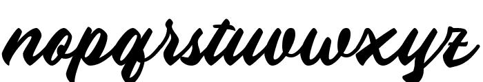 Aliena Font LOWERCASE