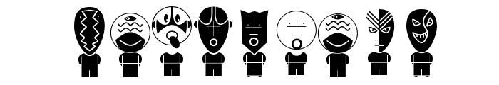 AliensInverse Font OTHER CHARS