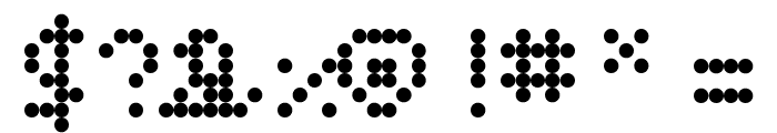 Alienss Regular Font OTHER CHARS