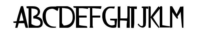 AlienzMonkey Font UPPERCASE