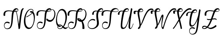 Alifa arwah studio Font UPPERCASE