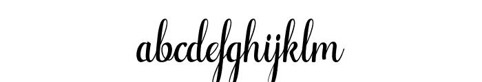 Alifa arwah studio Font LOWERCASE