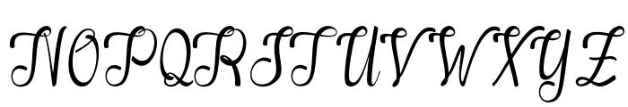 Alifa-arwahstudio Font UPPERCASE