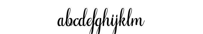 Alifa-arwahstudio Font LOWERCASE