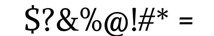 Alike-Regular Font OTHER CHARS