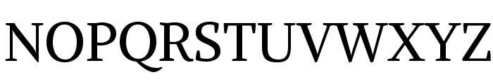 Alike-Regular Font UPPERCASE