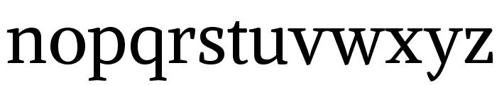 Alike-Regular Font LOWERCASE