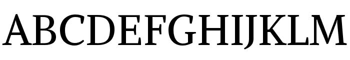 Alike Font UPPERCASE