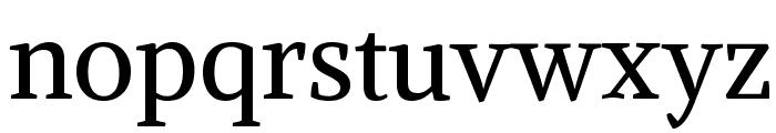 Alike Font LOWERCASE