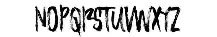 AlineaTypeface Font UPPERCASE